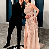 KJ Apa and Barbara Palvin at the Vanity Fair Oscars Party