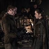 Arya and Gendry From Game of Thrones
