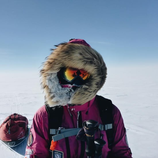 Jade Hameister Leaves Sandwich For Trolls at South Pole