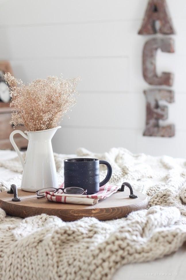 أفكار تزيين المنزل في الشتاء