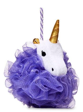 Bath & Body Works Unicorn Purple Mesh Shower Sponge