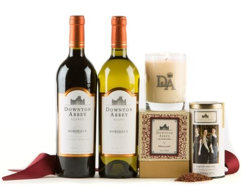 Downton Abbey Wine and Candle Set ($50)