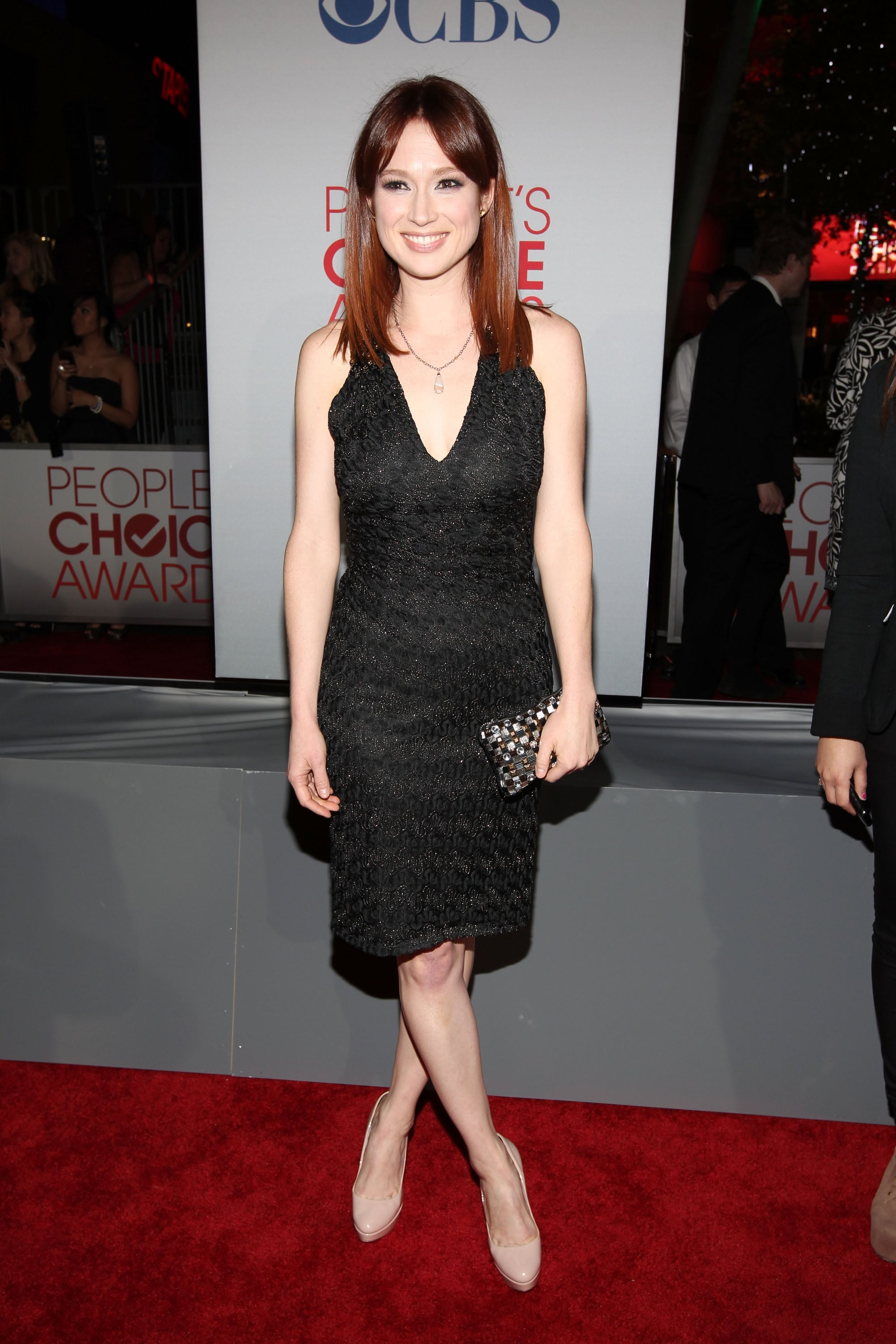 Ellie Kemper at the People's Choice Awards.