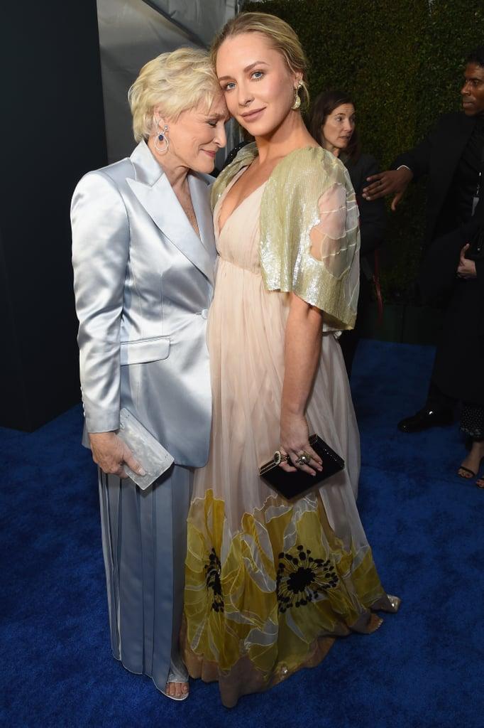 Pictured: Glenn Close and Annie Maude Starke