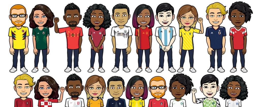 World Cup 2018: Make Your Bitmoji Wear Your Country's Kit