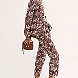 Allover Printed Suit