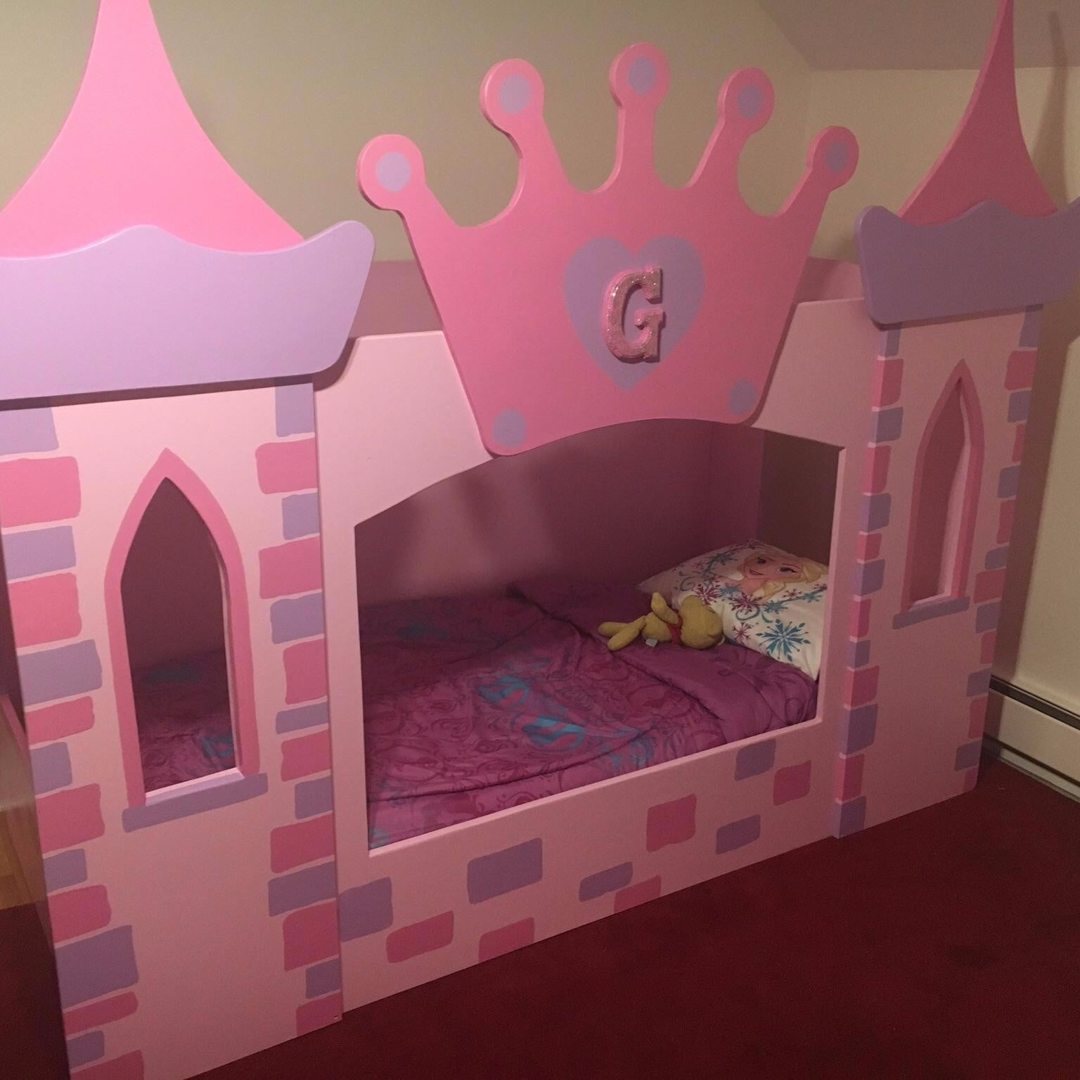 best loft house princess and bed include beds kids girls castle school tent ideas room slide design for