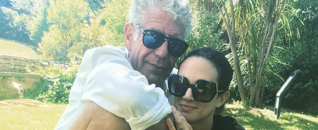 Anthony Bourdain Goes Public With His New Girlfriend in This Adorable Photo