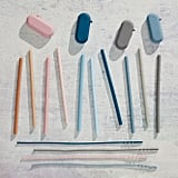 Five Two Reusable Silicone Straws