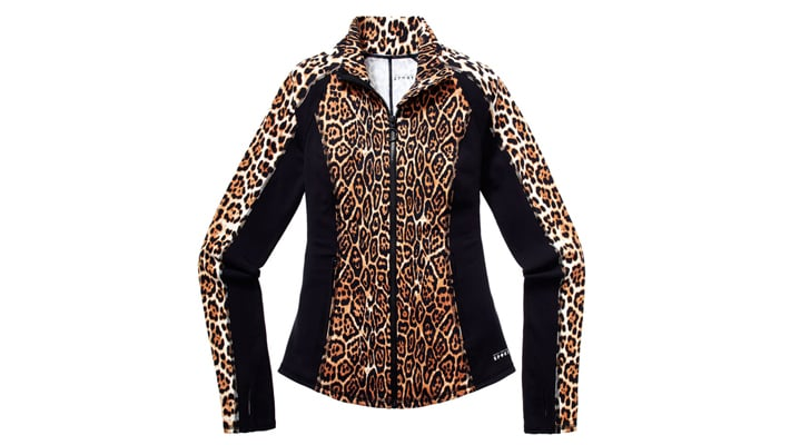 Fitted Jacket in Leopard