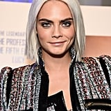 Cara Delevingne's Sleek Long Bob, 2017