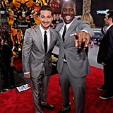 Shia LaBeouf and Tyrese Gibson at the Transformers: Dark of the Moon NYC premiere.