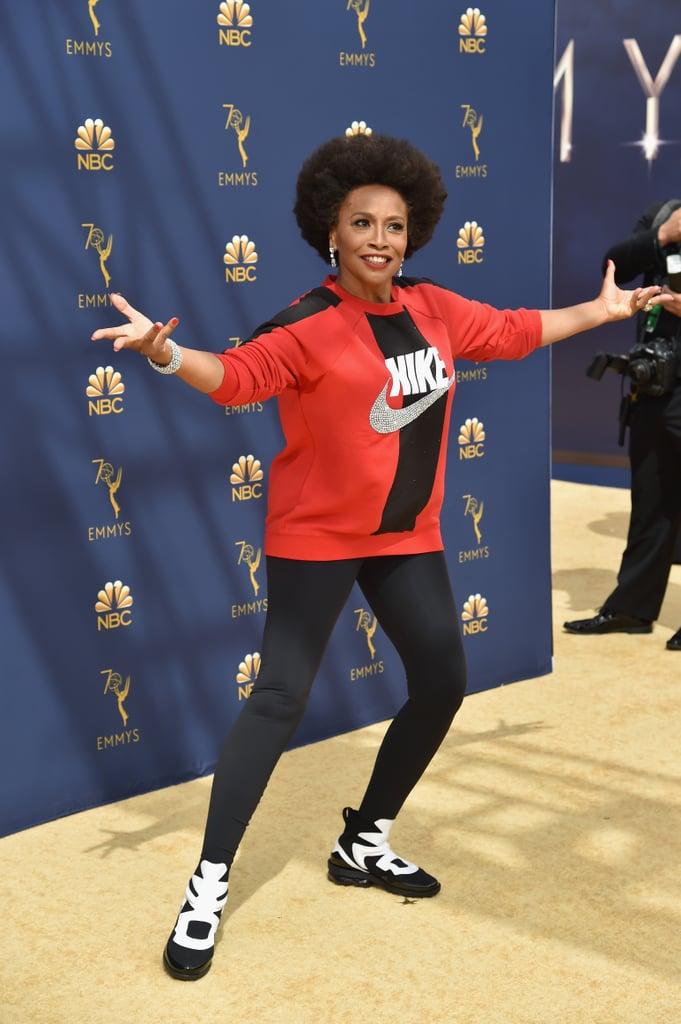 7f8bf3b95d133 Jenifer Lewis Nike Outfit at the 2018 Emmys | POPSUGAR Fashion Photo 7