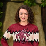 Maisie Williams's Pink Eyeliner Almost Distracted Us From Her Beautiful Freckles - Almost