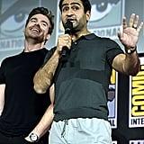 Pictured: Richard Madden and Kumail Nanjiani at San Diego Comic-Con.