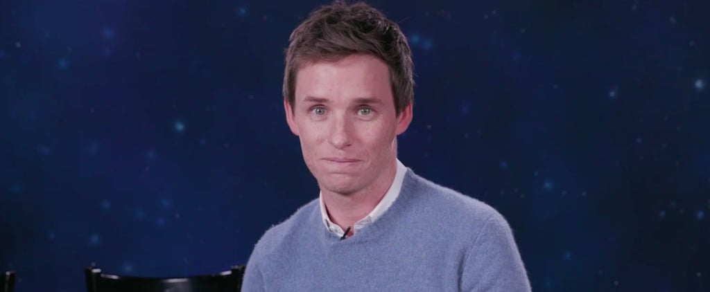 Eddie Redmayne Stands Up For His Fellow Hufflepuffs in an Emotional PSA