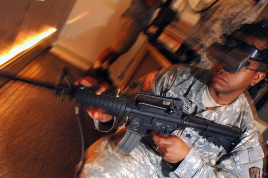 Grand-Theft Auto It's Not. Video Games Ease Soldiers' PTSD