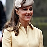 Kate Middleton accompanied Prince William at the Thistle Ceremony in Scotland.