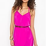 The bold magenta hue on this racerback dress is sure to turn heads.  Nasty Gal Racerback Wrap Dress ($48)