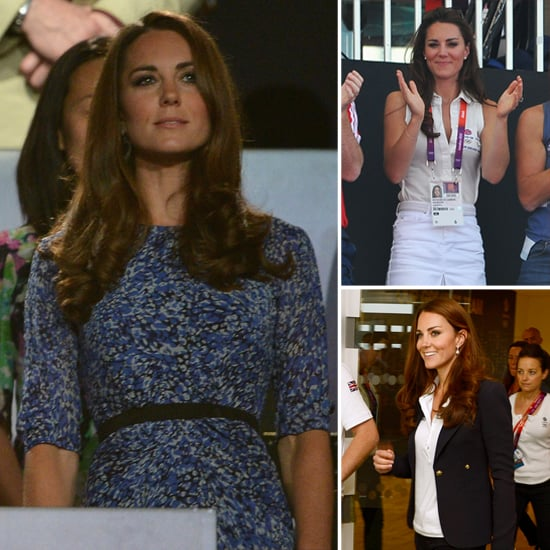Kate Middleton's Olympics Outfits