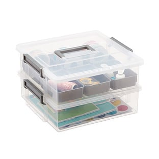 Two-Layer Gift Packaging Organizer