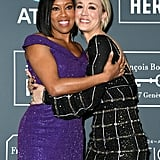 Pictured: Regina King and Kaley Cuoco