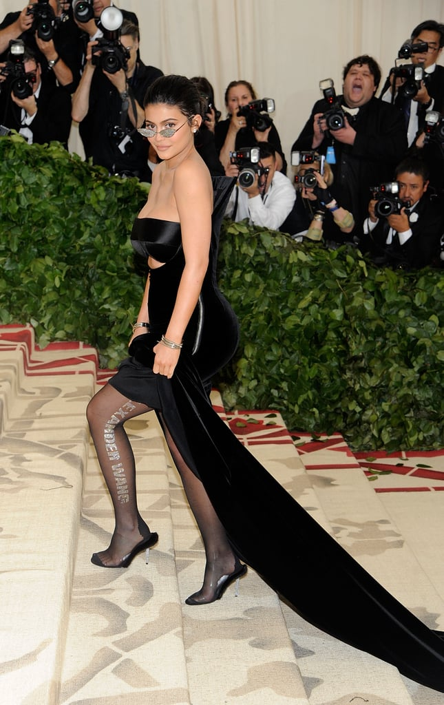 2c5d1f83044 Kylie Jenner went her own way at the 2018 Met Gala. Despite the opulent