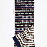 Fair Isle Two Sided Scarf ($40)