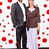 Diane Kruger and Joshua Jackson posed at Louis Vuitton's party.  Will Ragozzino/BFAnyc.com