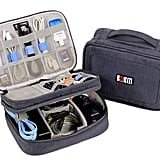Electronics Organizer Travel Cable Cord Bag Accessories Gadget Gear Storage Case