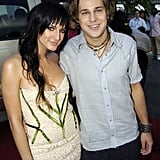 Ashlee Simpson and Ryan Cabrera, 2004