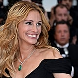 Julia Roberts With Blond, Wavy Hair in 2016