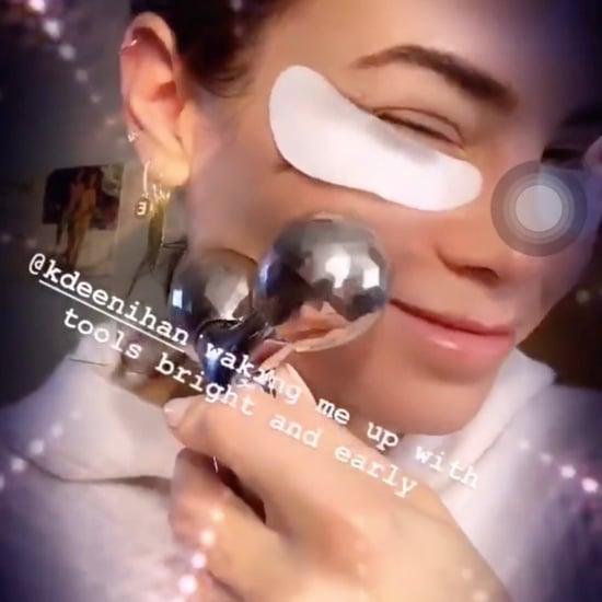 Jenna Dewan Face Roller