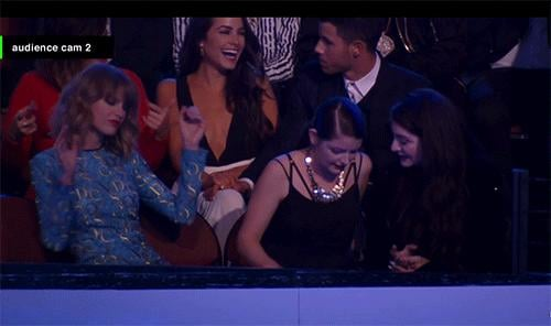 Taylor Swift Got Down in the Audience