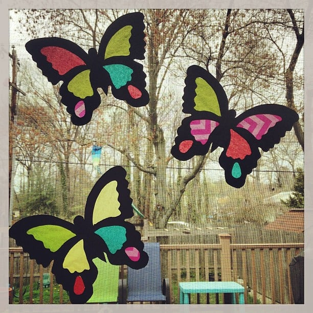 Make a Stained-Glass Craft