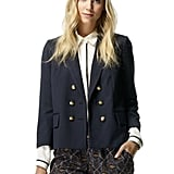 Pair this nautical Club Monaco Noelle blazer ($179, originally $249) with a silk blouse, pencil skirt, and pumps for a chic, work-appropriate look.