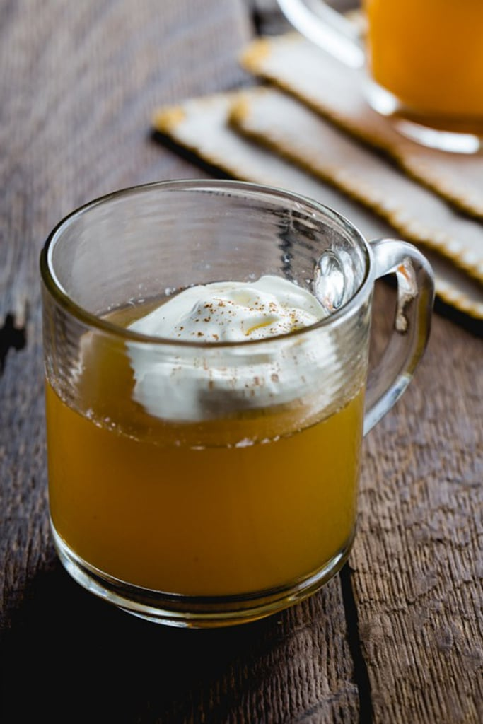 Cardamom-Spiced Hot Cider With Bourbon