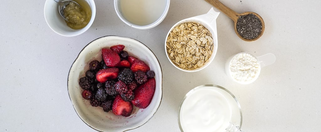 Protein Overnight Oats Recipe with Probiotics