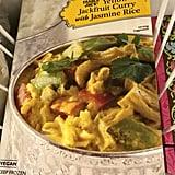Yellow Jackfruit Curry With Jasmine Rice