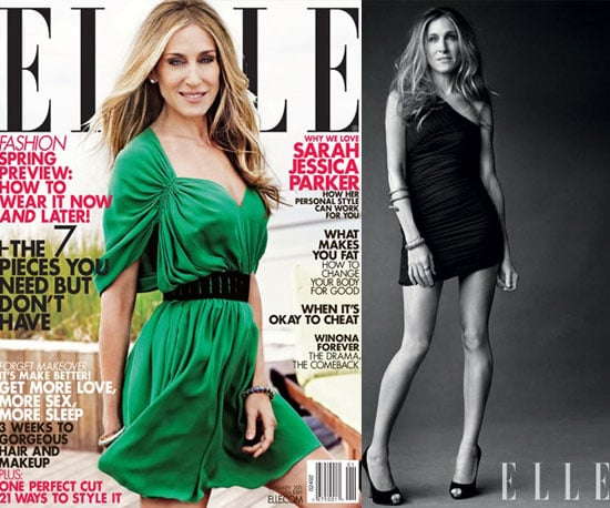 Sarah Jessica Parker speaks about her Halston Creative Director Role in Elle January 2010