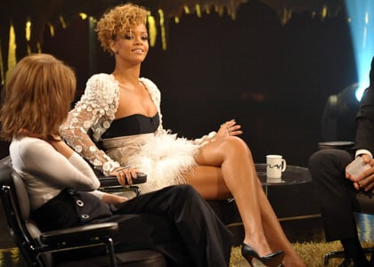 Rihanna promoting her album in Sweden