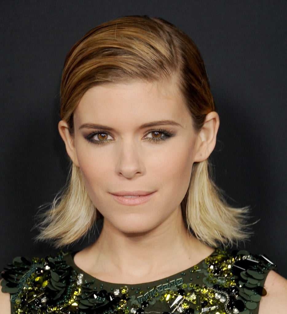 Kate Mara's Hair in Bobby Pins at House of Cards Premiere