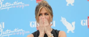 Jennifer Aniston Is Overcome With Emotion While Being Honored at the Giffoni Film Festival