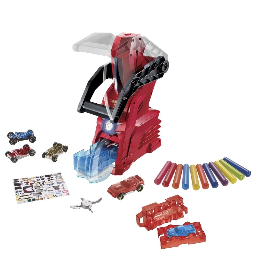 For 5-Year-Olds: Hot Wheels Car Maker Playset