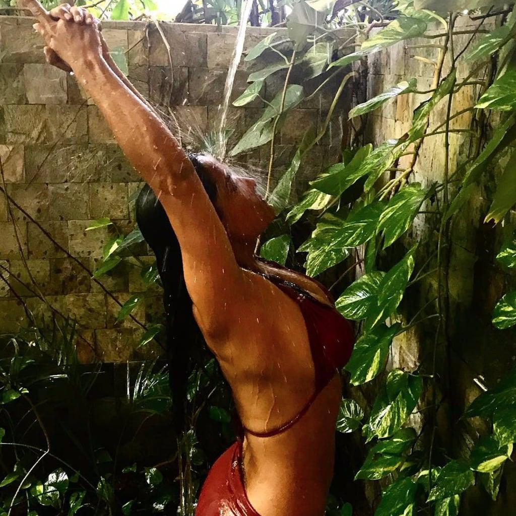 Salma Hayek Bikini Picture August 2017