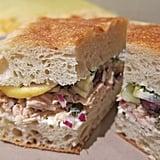 Tuna With Fennel and Lemon Sandwich