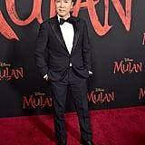 دوني ين في العرض العالمي الأول لفيلم مولان في لوس أنجلوس