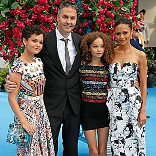 Thandie Newton With Family at Mamma Mia Premiere July 2018