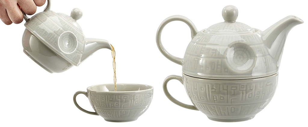 This Death Star Teapot Will Help Destroy Your Caffeine Cravings — Lasers Not Included