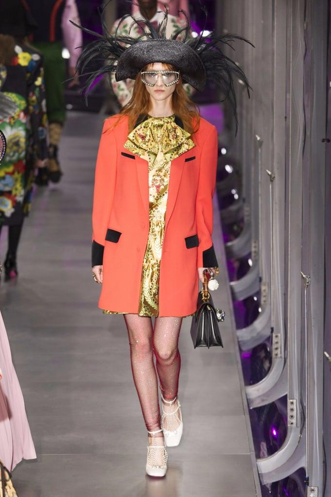 Gucci Fall 2017 Runway Show Popsugar Fashion
